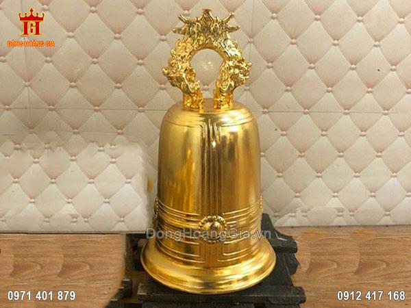 Chuông Đồng Thếp Vàng 9999 Cao Cấp