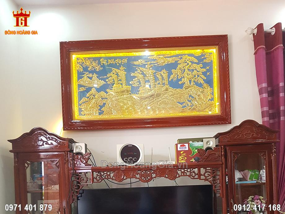 Lắp Tranh Thuận Buồm Xuôi Gió Đồng Vàng Cho Khách Việt Trì Phú Thọ