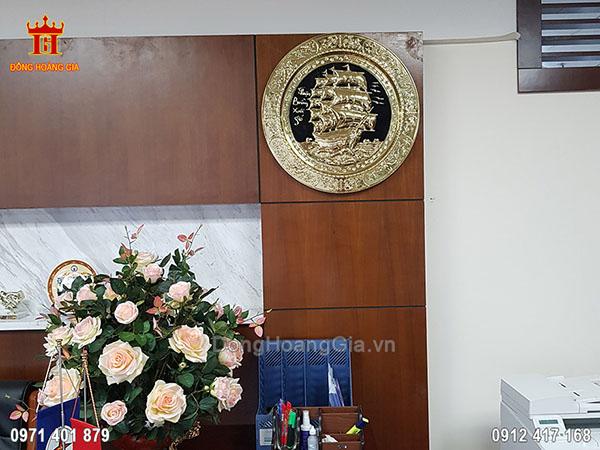 Tranh Thuận Buồm Xuôi Gió Đồng Vàng 52Cm