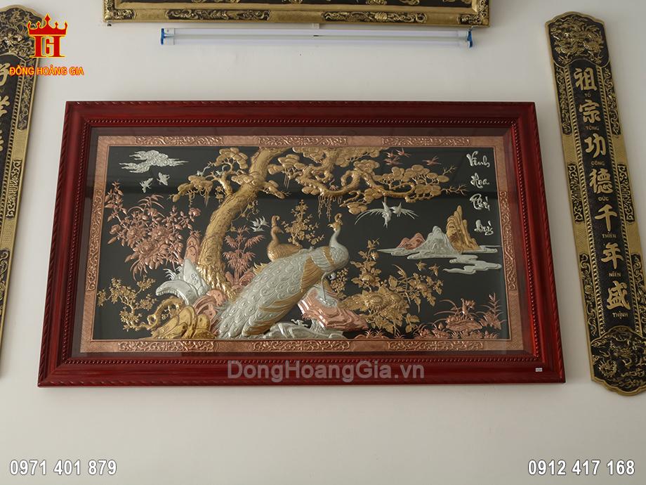 Tranh Vinh Hoa Phú Quý đẹp