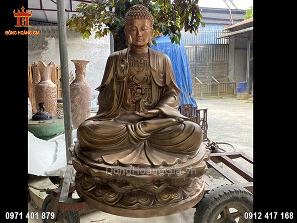Tượng đồng Phật Thích Ca 2m